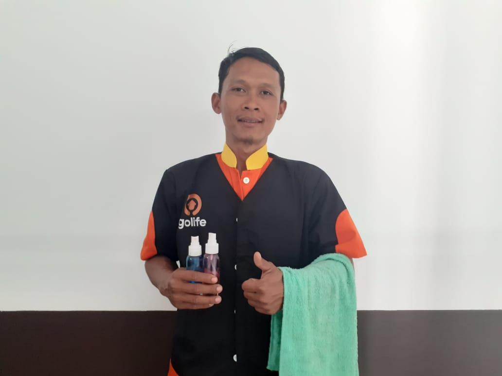 Berkat Zakat, Hidup Ali Berubah dari Buruh Serabutan jadi Pemuda Terampil