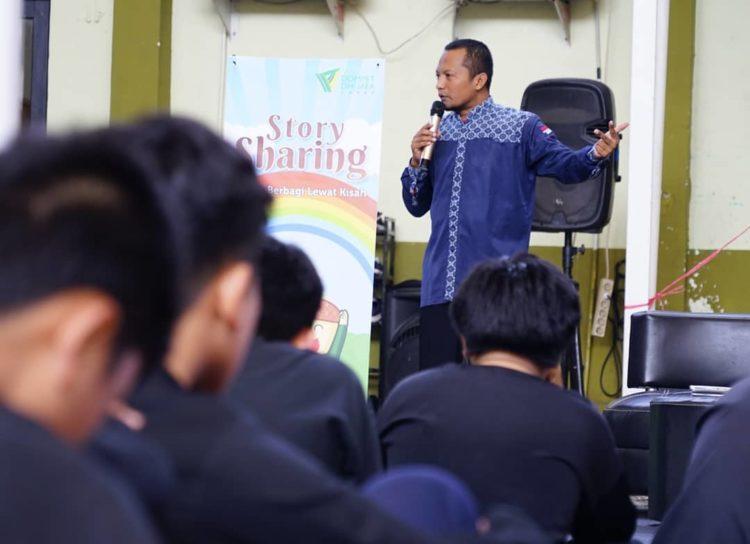 Gelar Story Sharing, Dompet Dhuafa Jabar Ajak Siswa Berbagi Lewat Kisah