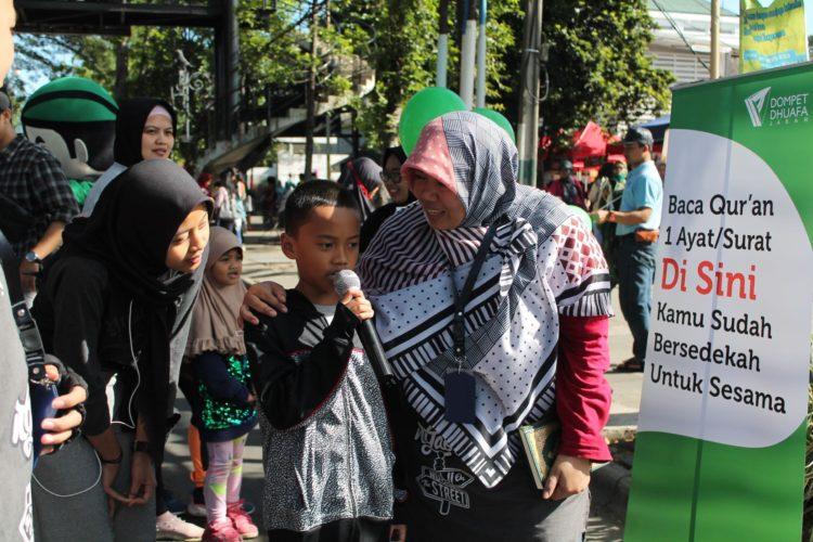 Gelar Ngaji On The Street (Ngaos), Cara Dompet Dhuafa Jabar Ajak Masyarakat Gemar Baca Al Quran