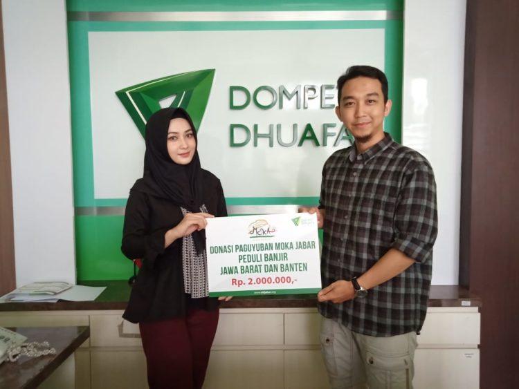 Peduli Banjir Jawa Barat dan Banten, Paguyuban Mojang -Jajaka Jawa Barat Lakukan Kolaborasi Kebaikan bersama Dompet Dhuafa Jabar