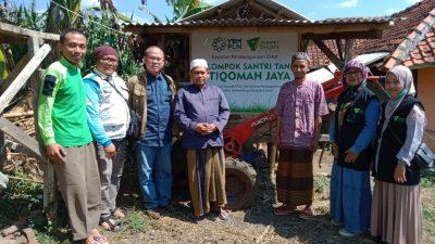 Dompet Dhuafa Jabar-YBM PLN UID Jabar Gulirkan Program Kampung Ternak Berbasis Pesantren