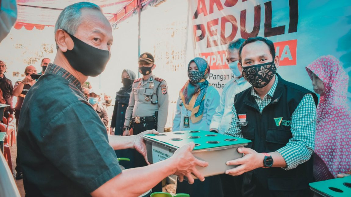 Aksi Peduli Dampak Corona, Dompet Dhuafa Jabar Gencarkan Program Ketahanan Pangan Keluarga