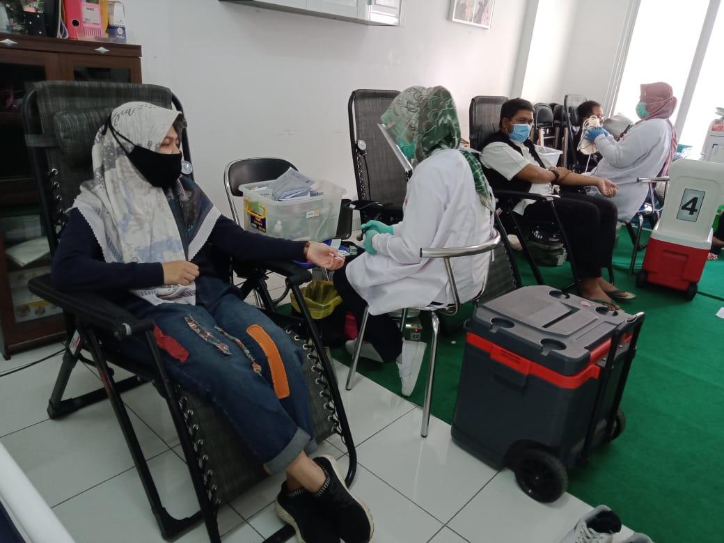 Berbagi Kebaikan di Masa Pandemi, DD Jabar Kembali Gelar Donor Darah