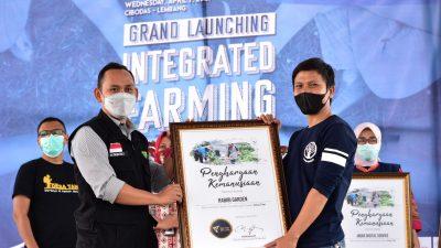 Dukung Pertanian Indonesia, Dompet Dhuafa Jabar Launching Koperasi Tani Agronative